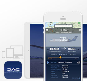 DAC Aviation - Desktop and iPad App