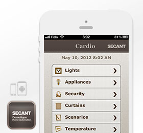 Secant Mobile App